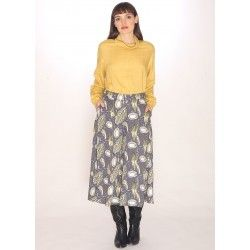 SEEDS PRINT CULOTTE TROUSERS